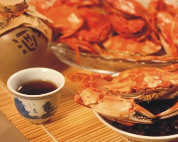国人吃蟹文化